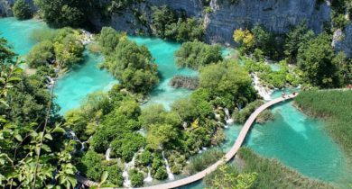 Plitvice Lake, Central Croatia