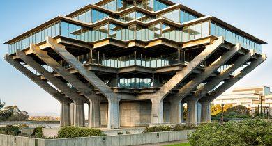 UCSD Geisel Library, San Diego, California, USA