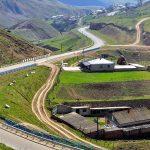 Caucasus road, Russia