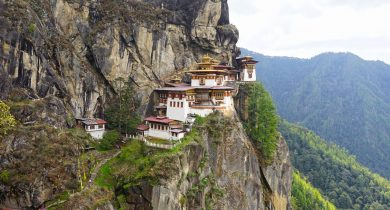 Taktsang Tigers Nest Monastery, Bhutan