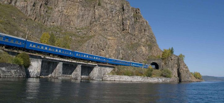 Trans-Siberian, World's Longest Railway (Russia)