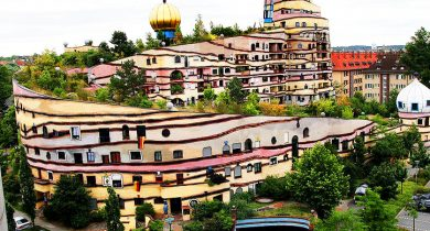 Forest Spiral - Hundertwasser Building