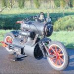 the Steam Engine Bike