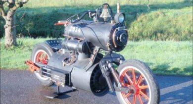 the Steam Engine Bike