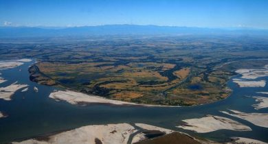 River Island In Majoli Assam
