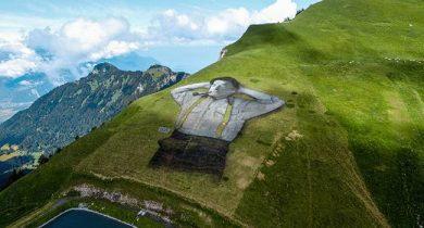 graffite on Mountain