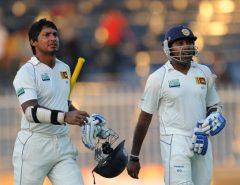 Sri Lanka's batsman Kumar Sangakkara
