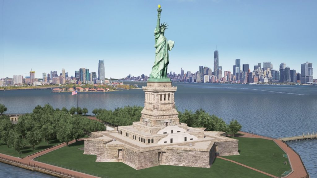 The Statue Of Liberty, New York, 93m - Infy world